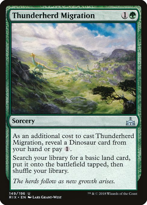 Thunderherd Migration (RIX)