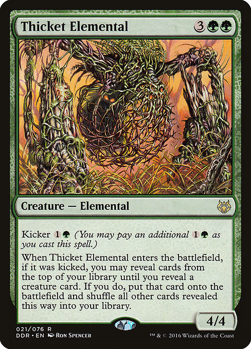 Thicket Elemental (DDR)