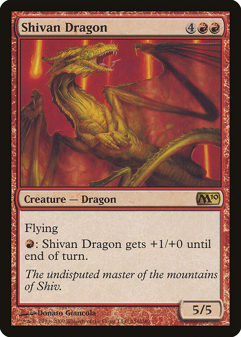 Shivan Dragon (M10)