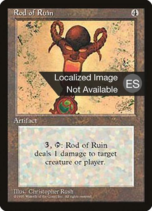 Rod of Ruin (4BB)