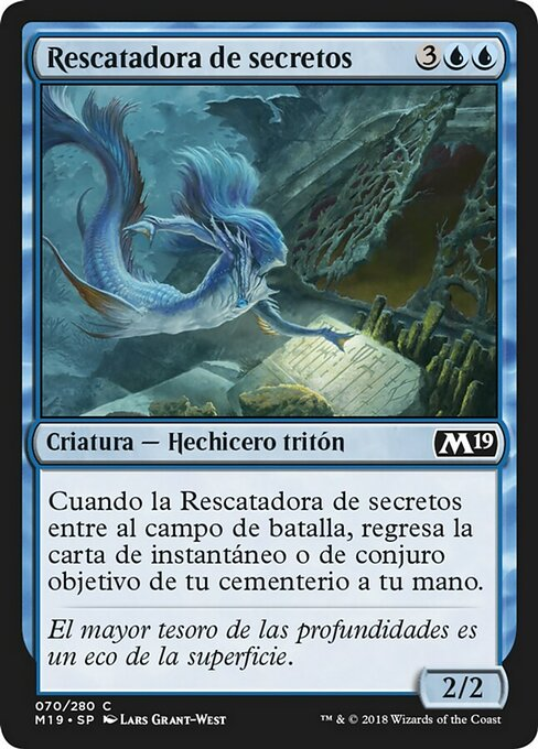 Salvager of Secrets (M19)
