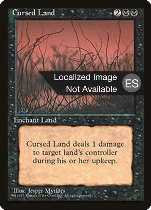 Cursed Land (4BB)
