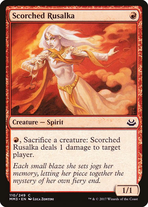 Scorched Rusalka (MM3)