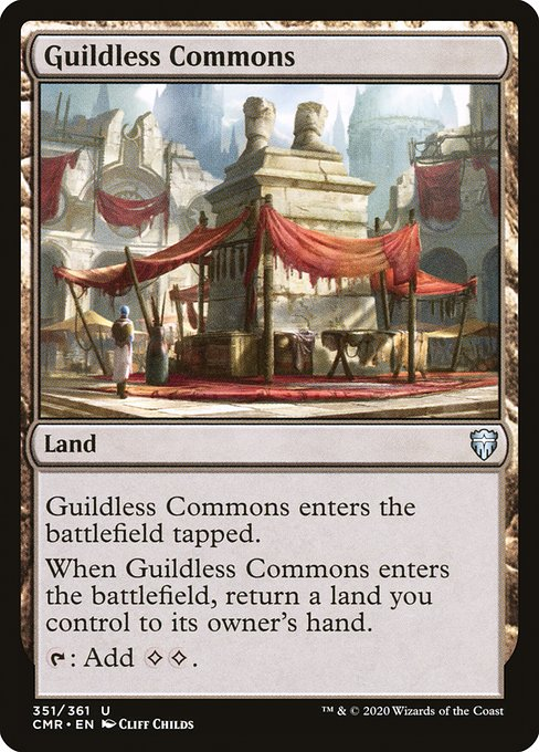 Guildless Commons (CMR)