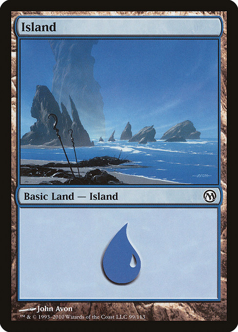 Island - Duels of the Planeswalkers