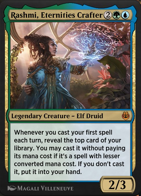 Rashmi, Eternities Crafter (KLR)