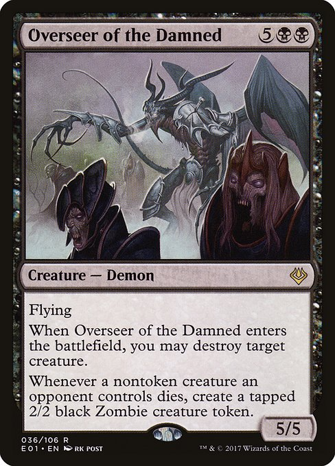 Overseer of the Damned (E01)