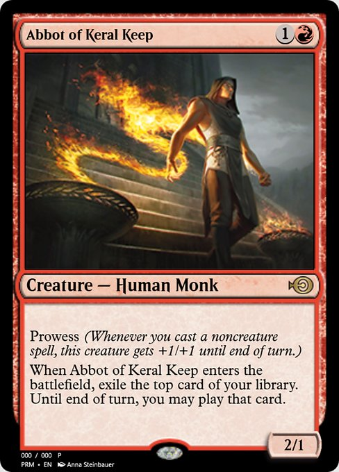 Abbot of Keral Keep (PRM)