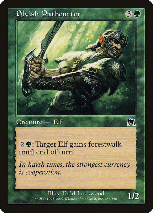 Elvish Pathcutter (ONS)