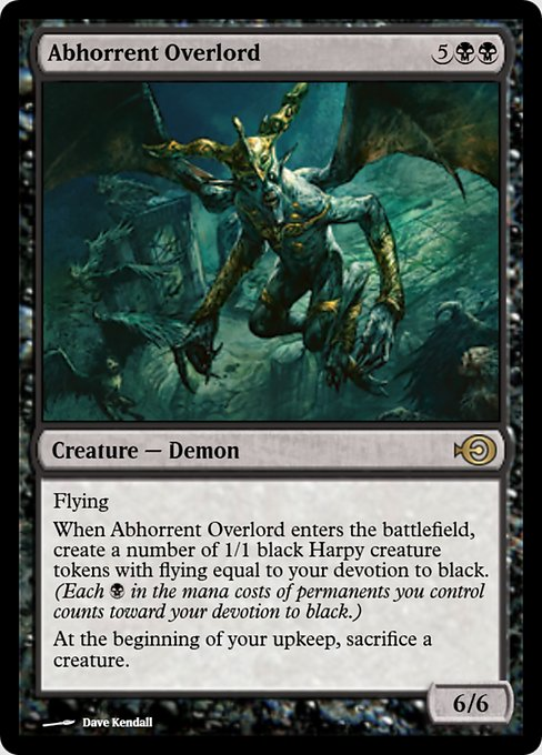Abhorrent Overlord (PRM)