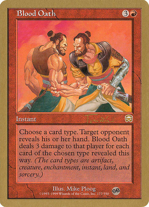 Blood Oath (WC01)