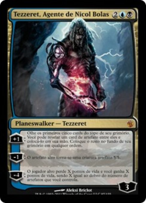 Tezzeret, Agent of Bolas (MBS)