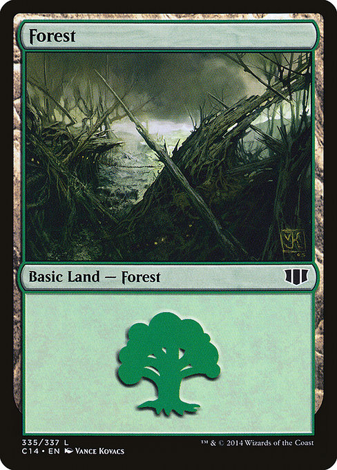Forest - Commander 2014