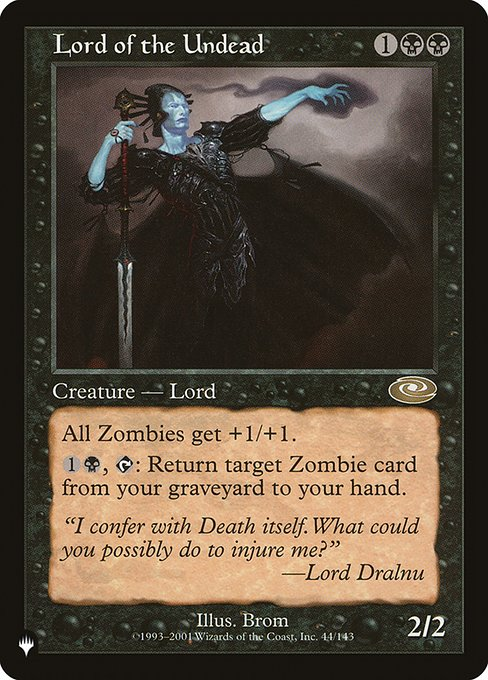 Lord of the Undead (PLIST)
