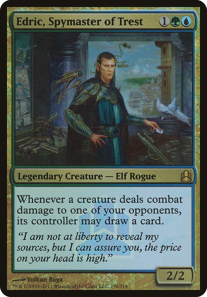 Edric, Spymaster of Trest (PCMD)