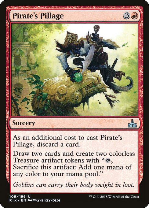 Pirate's Pillage (RIX)