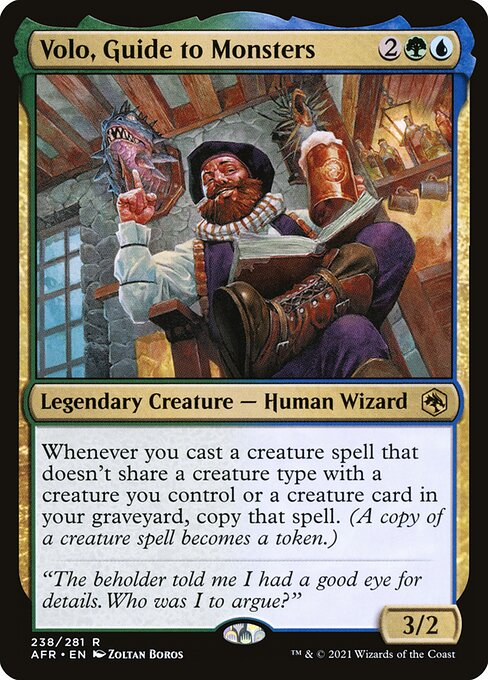 Volo, Guide to Monsters (AFR)
