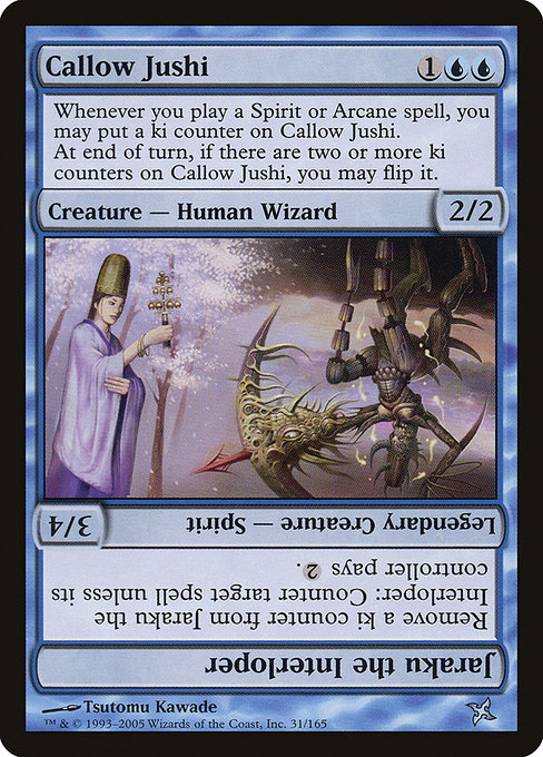 Callow Jushi // Jaraku the Interloper (BOK)