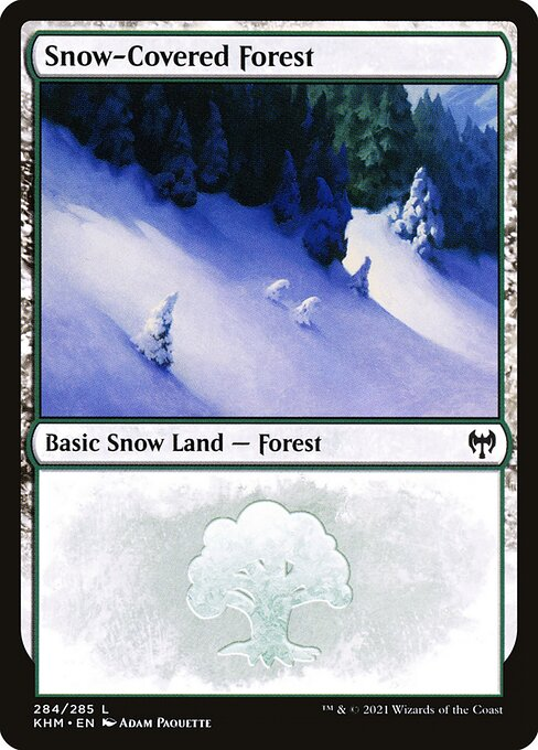 Snow-Covered Forest (KHM)