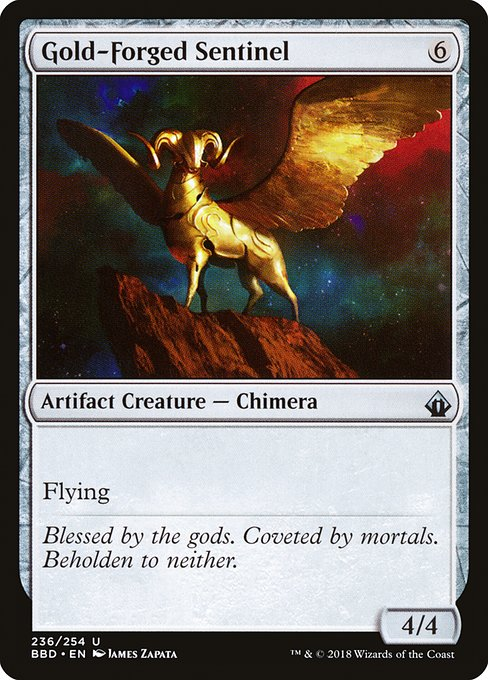 Gold-Forged Sentinel (BBD)