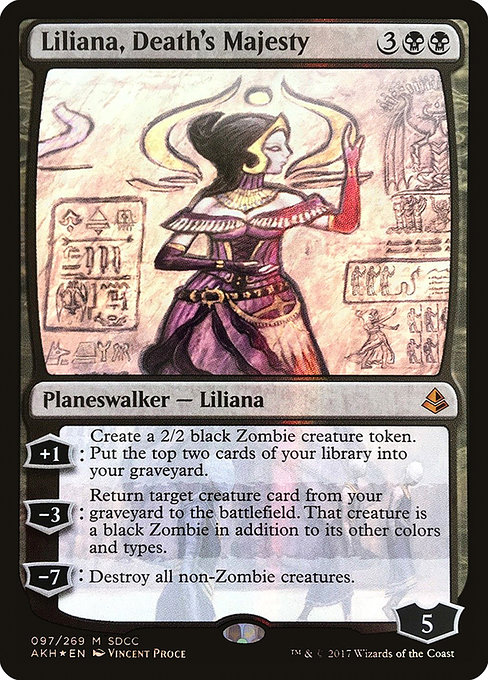 Liliana, Death's Majesty (PS17)