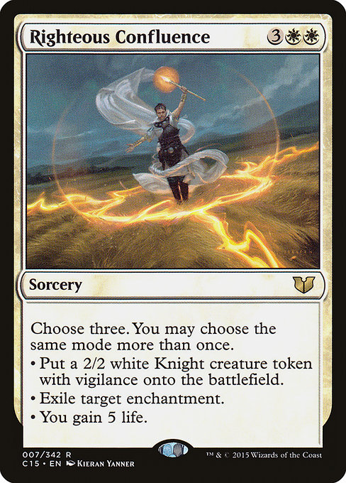 Righteous Confluence (C15)