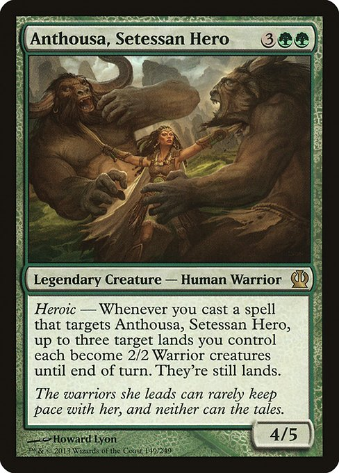 Anthousa, Setessan Hero (THS)