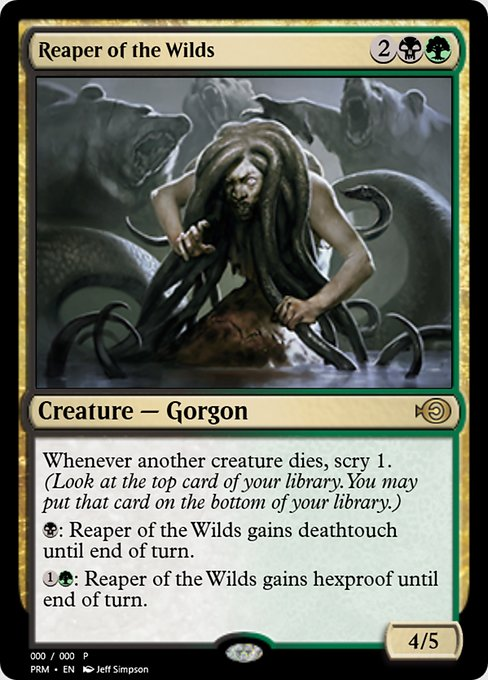 Reaper of the Wilds (PRM)