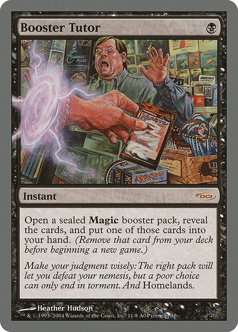 Booster Tutor (PAL04)