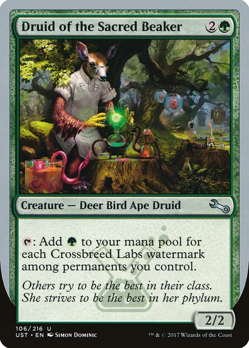 Druid of the Sacred Beaker (UST)