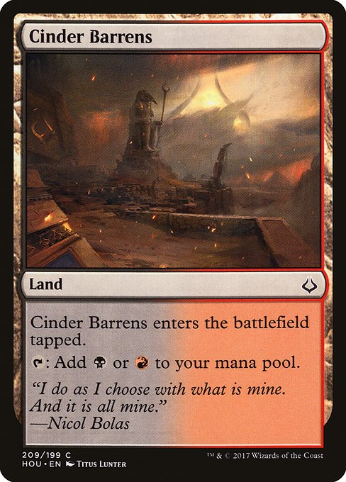 Cinder Barrens (HOU)