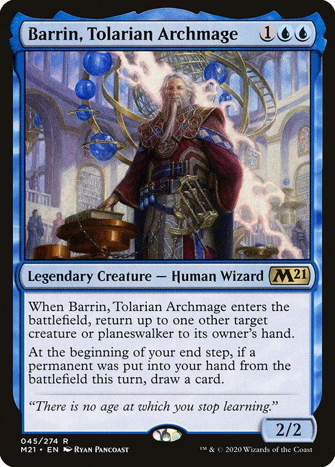 Barrin, Tolarian Archmage