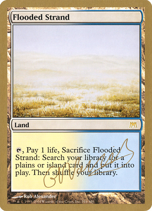 Flooded Strand (WC04)