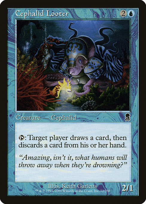 Cephalid Looter (ODY)