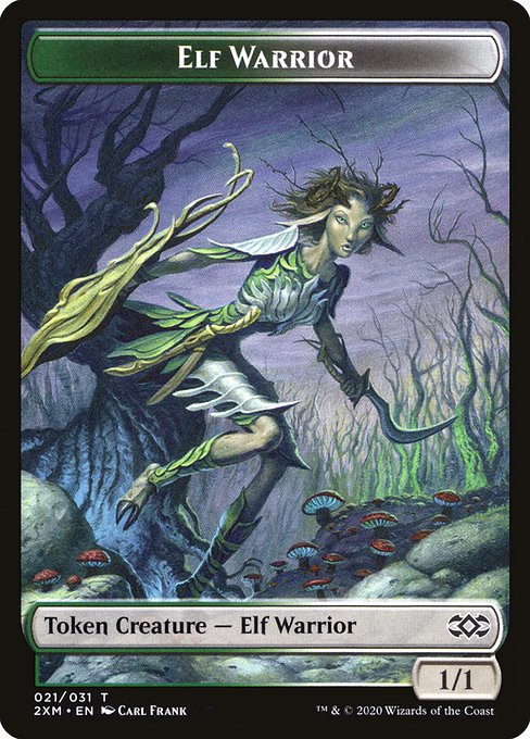 Elf Warrior (T2XM)
