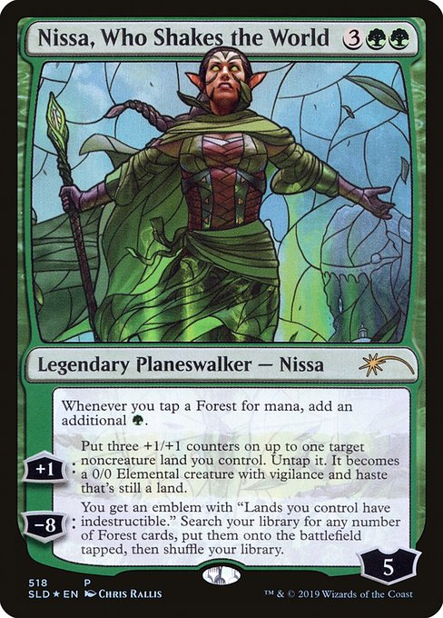 Nissa, Who Shakes the World (SLD)