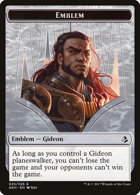 Gideon of the Trials Emblem (TAKH)