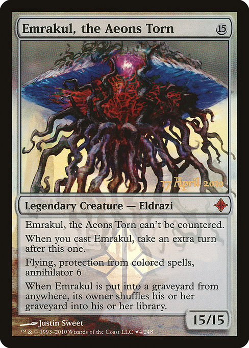 Emrakul, the Aeons Torn (PROE)