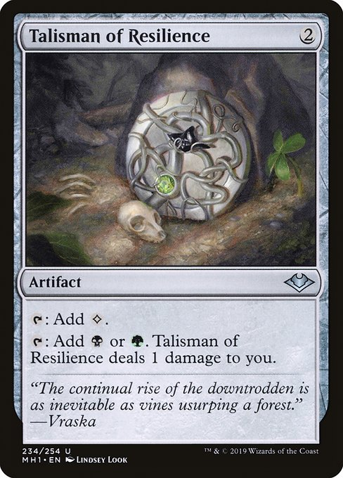 Talisman of Resilience (MH1)