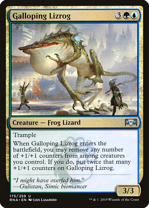 Galloping Lizrog (RNA)