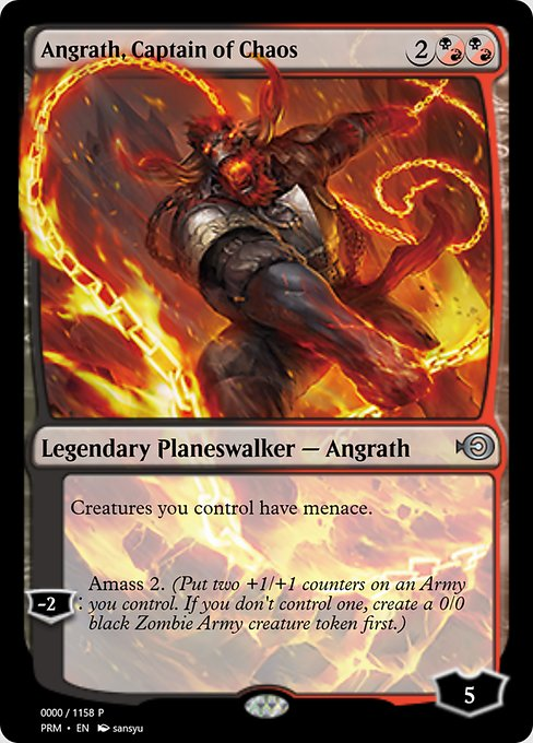 Angrath, Captain of Chaos (PRM)