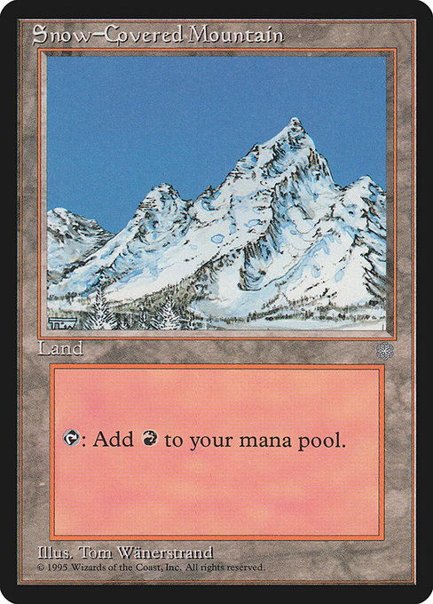 Snow-Covered Mountain (ICE)
