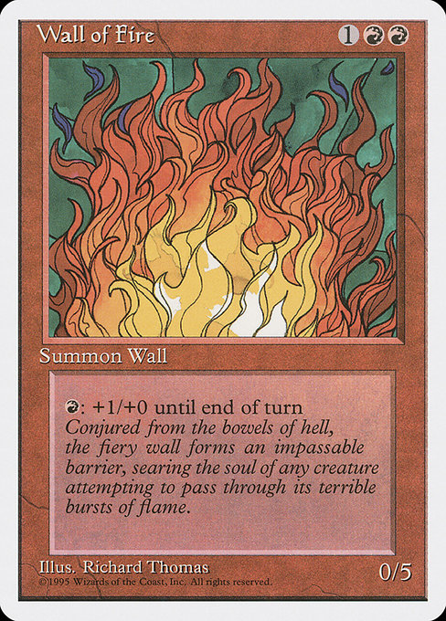 Wall of Fire (4ED)