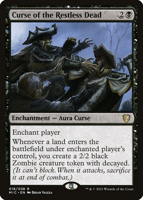 Curse of the Restless Dead (MIC)