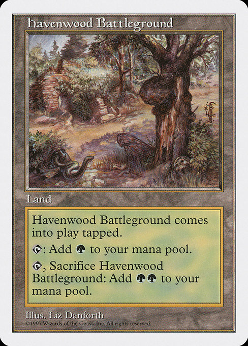 Havenwood Battleground (5ED)