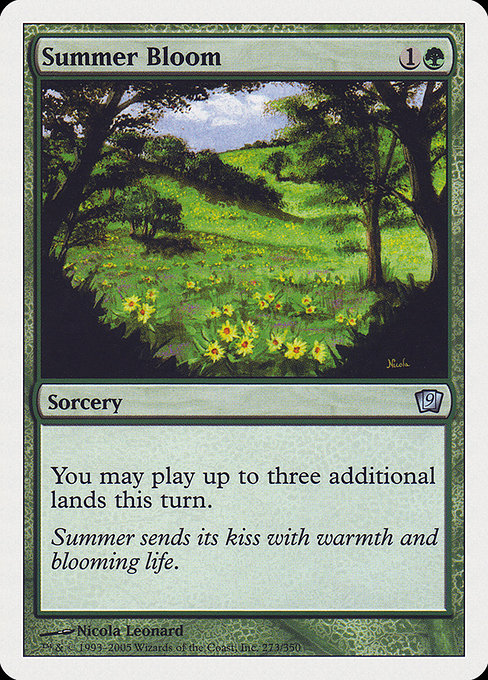 Summer Bloom (9ED)