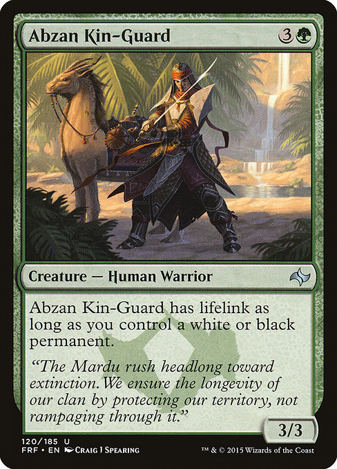 Abzan Kin-Guard (FRF)