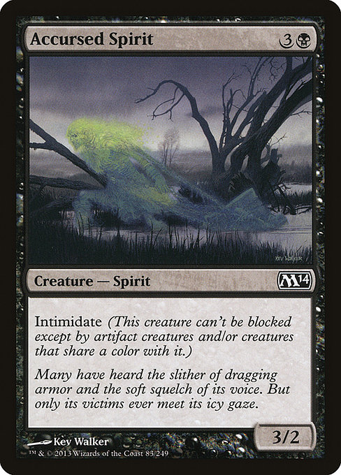 Accursed Spirit (M14)