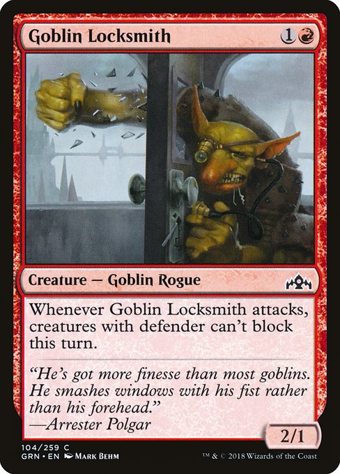 Goblin Locksmith (GRN)