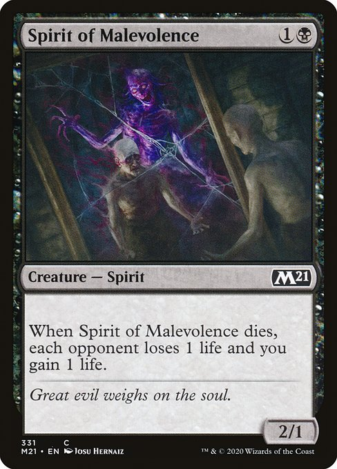 Spirit of Malevolence (M21)